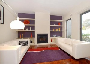 Low Ceiling Room with Bold Floor