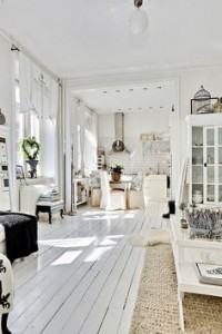 White room with white floor